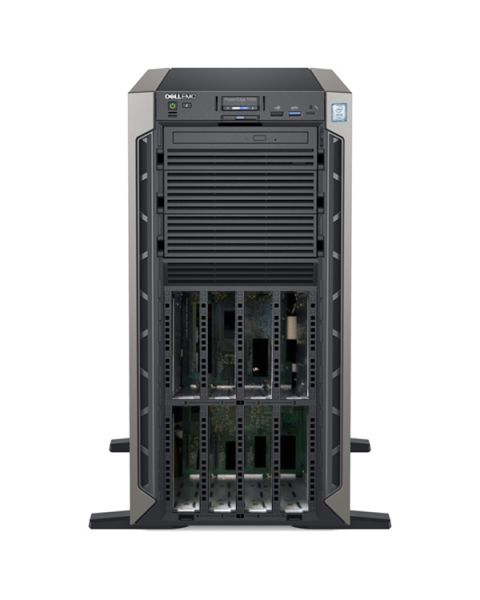 Dell PowerEdge T640 Tower Server, Intel Xeon Silver 4215R, 32GB RAM, 1.2TB, Dell 3 Jahre Garantie, Englisch Tastatur