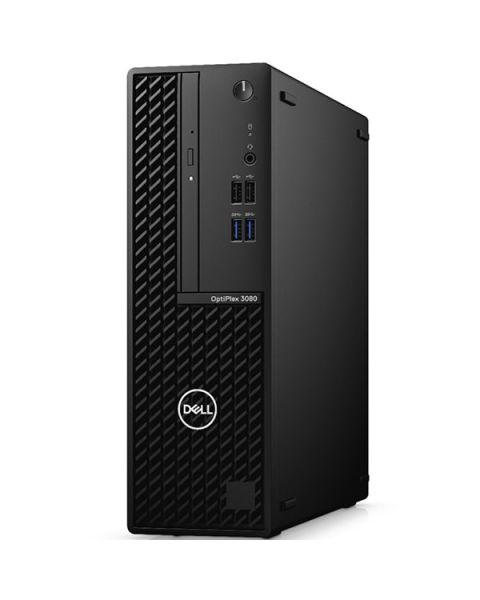 Dell OptiPlex 3080 Small Form Factor, Nero, Intel Core i3-10100, 8GB RAM, 256GB SSD, DVD-RW, Dell 3 Anni Di Garanzia
