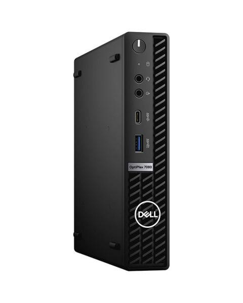 Dell OptiPlex 7080 Micro Form Factor, Nero, Intel Core i3-10300, 16GB RAM, 256GB SSD, Dell 3 Anni Di Garanzia