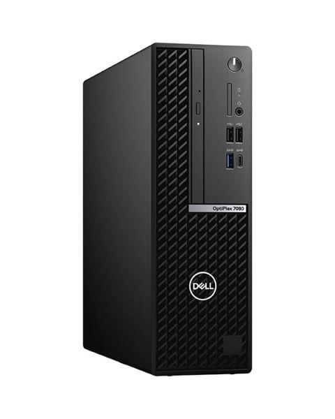 Dell OptiPlex 7080 Small Form Factor, Schwarz, Intel Core i7-10700, 8GB RAM, 256GB SSD, DVD-RW, Dell 3 Jahre Garantie