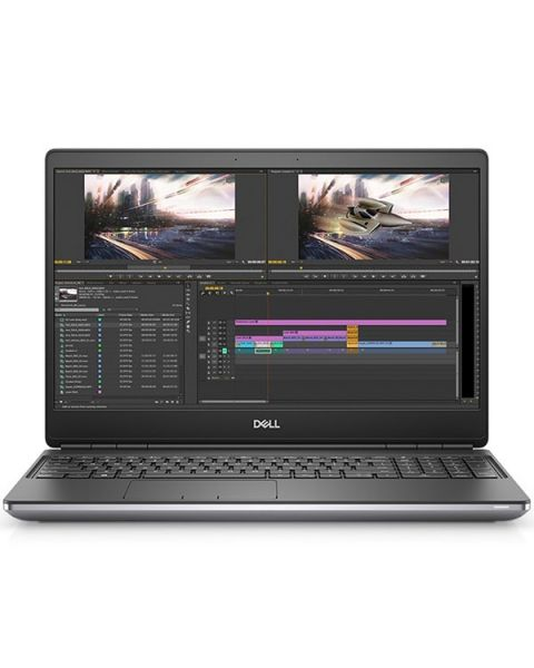 Dell Precision 15 7550 Mobile Workstation, Silber, Intel Core i7-10850H, 32GB RAM, 512GB SSD, 15.6