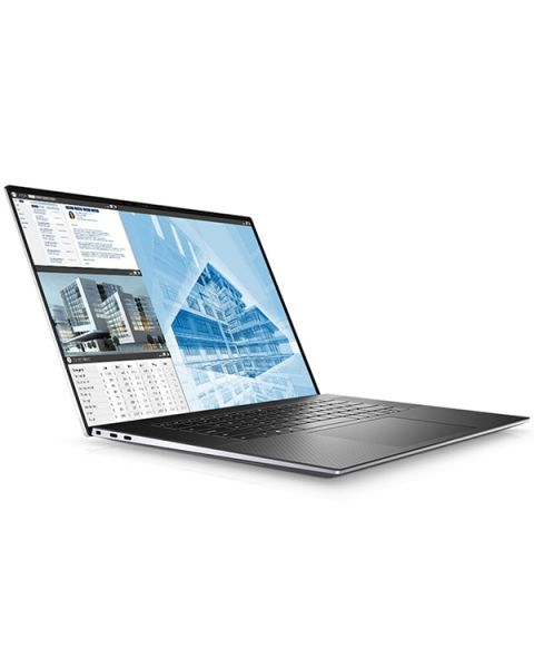 Dell Precision 15 5550 Mobile Workstation, Silber, Intel Xeon W-10855M, 8GB RAM, 256GB SSD, 15.6