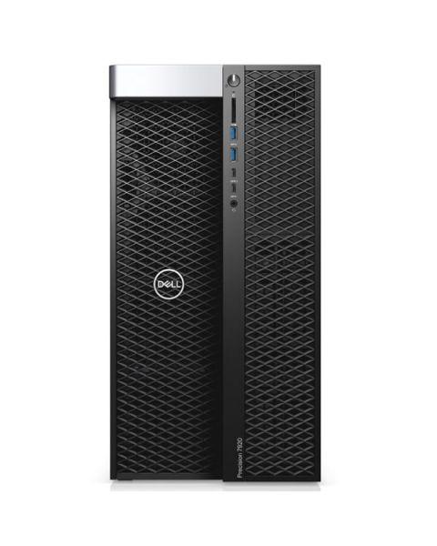 Workstation tower Dell Precision 7920, Intel Xeon Gold 6154, RAM da 192 GB, SSD da 1 TB + 2x SATA da 4 TB, NVIDIA Quadro RTX 4000 da 8 GB, DVD-RW, Dell 3 anni WTY