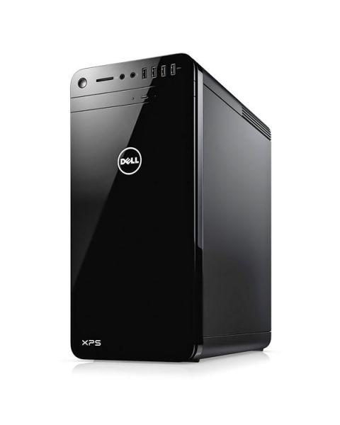 Dell XPS 8930 Mini Tower, Nero, Intel Core i7-8700, 16GB RAM, 256GB SSD+2TB SATA, 8GB NVIDIA GeForce GTX 1070, DVD-RW Slim, Dell 1 Anno Di Garanzia