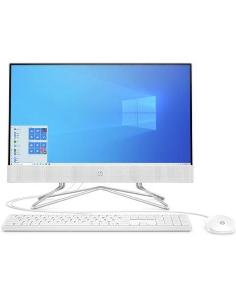 HP 22-df0010nl All-in-one, Weiß, Intel Pentium Silver J5040, 8GB RAM, 256GB SSD, 21.5