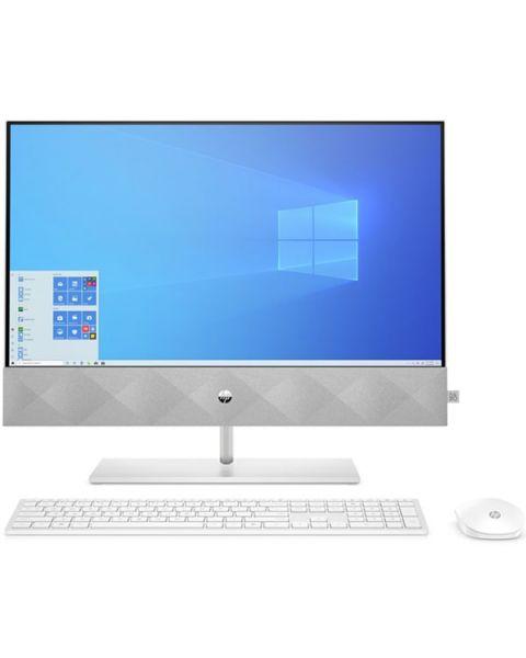 HP Pavilion 24-ka0018na All-in-one, Weiß, AMD Ryzen 5 4600H, 16GB RAM, 256GB SSD, 23.8
