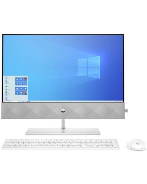 HP Pavilion 24-k0012na All-in-one, Weiß, AMD Ryzen 7 4800H, 16GB RAM, 512GB SSD, 23.8