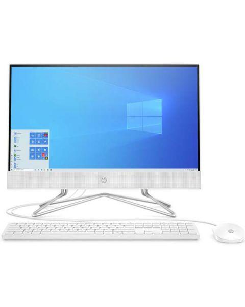 HP 22-df0000na All-in-one, Weiß, Intel Celeron J4025, 4GB RAM, 128GB SSD, 21.5
