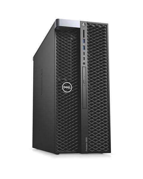 Dell Precision 5820 Tower Workstation, Nero, Intel Xeon W-2255, 256GB RAM, 2x 1TB SSD, 16GB NVIDIA Quadro RTX 5000, DVD-RW, Dell 3 Anni Di Garanzia, Inglese Tastiera