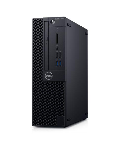 Dell OptiPlex 3070 Small Form Factor PC, Intel Core i3-9100, 8GB RAM, 256GB SSD, DVD-RW, Dell 3 YR WTY