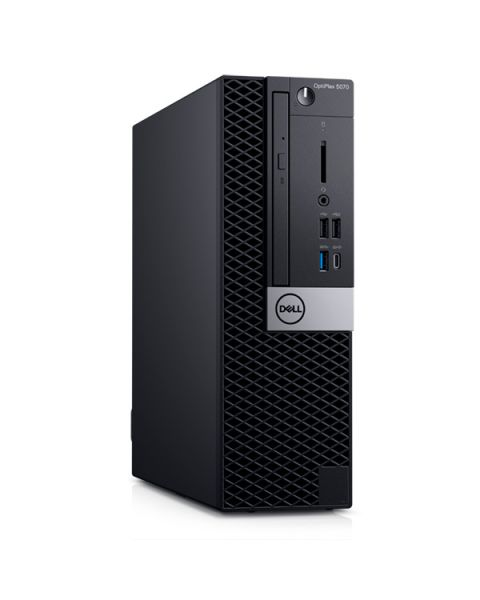 Dell OptiPlex 5080 Small Form Factor, Nero, Intel Core i5-10500, 8GB RAM, 256GB SSD, Dell 3 Anni Di Garanzia, Inglese Tastiera
