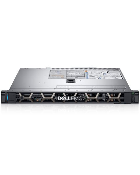 Dell PowerEdge R340 Rack Server, Argento, Intel Xeon E-2144G, 32GB RAM, 2x 1TB SATA, Dell 3 Anni Di Garanzia