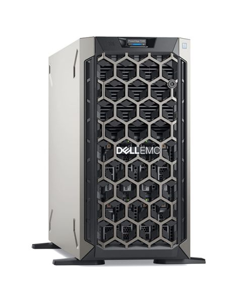 Dell PowerEdge T340 Tower Server, Grigio, Intel Xeon E-2226G, 16GB RAM, 2x 480GB SSD+2x 2TB SATA+2x 1TB SATA, Dell 3 Anni Di Garanzia