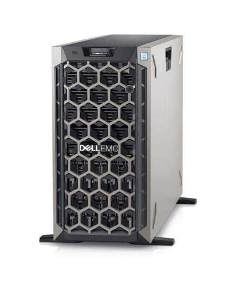 Dell PowerEdge T640 Tower Server, Schwarz, Intel Xeon Silver 4214, 48GB RAM, 480GB SSD, Dell 3 Jahre Garantie, Englisch Tastatur
