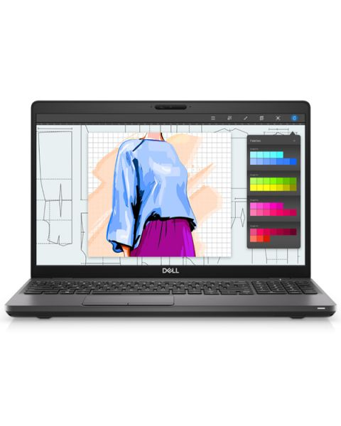 Dell Precision 15 3541 Mobile Workstation, Schwarz, Intel Core i7-9850H, 16GB RAM, 256GB SSD, 15.6