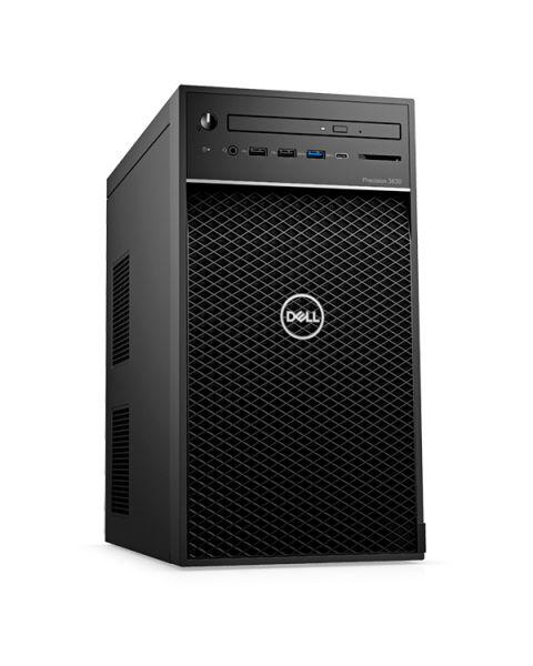 Dell Precision 3630 Tower Workstation Tower, Nero, Intel Xeon E-2286G, 32GB RAM, 512GB SSD, 8GB NVIDIA Quadro RTX 4000, EuroPC 1 Anno Di Garanzia