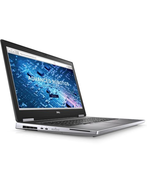 Dell Precision 17 7740 Mobile Workstation, Kohlenstoff-Faser, Intel Core i7-9850H, 16GB RAM, 512GB SSD, 17.3