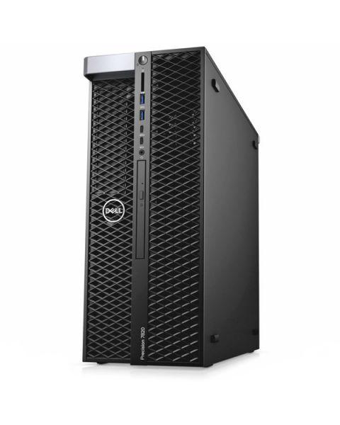 Dell Precision 7820 Tower Workstation, Nero, Intel Xeon Bronze 3106, 64GB RAM, 2x 2TB SATA, 4GB AMD Radeon Pro WX5100, Dell 3 Anni Di Garanzia