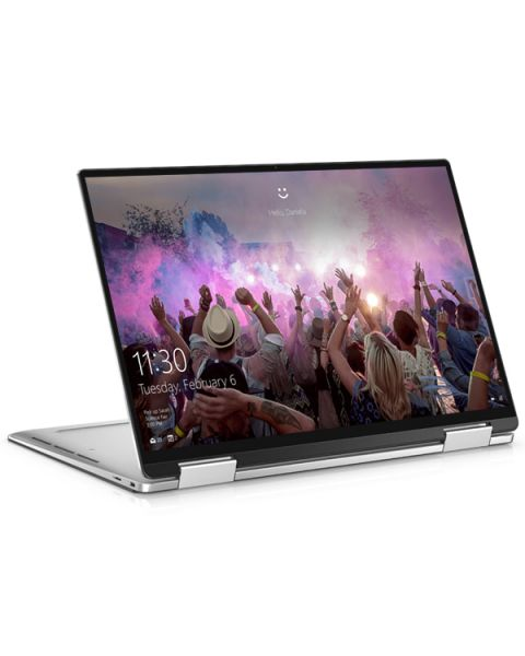Dell XPS 13 7390 2-in-1, Silber, Intel Core i7-1065G7, 16GB RAM, 512GB SSD, 13.4