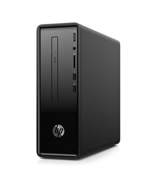 HP 290-a0000nl Slimline Desktop, Schwarz, AMD A9-9425, 8GB RAM, 256GB SSD, DVD-RW Slim, HP 1 Jahr Garantie, Italienische Tastatur