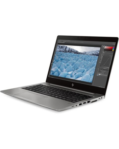 HP ZBook 14u G6 Mobile Workstation, Grau, Intel Core i7-8565U, 16GB RAM, 256GB SSD, 14.0