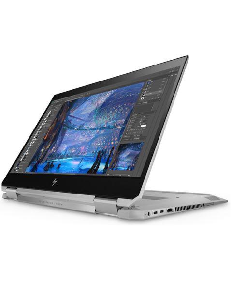 HP ZBook Studio x360 G5 Mobile Workstation, Grau, Intel Core i9-8950HK, 16GB RAM, 512GB SSD, 15.6