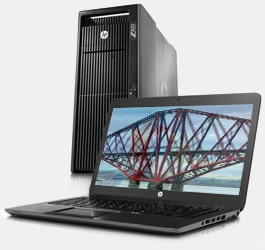 HP Workstations from EuroPC